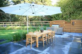 cantilever patio magnificent cantilever patio umbrella in pool contemporary with