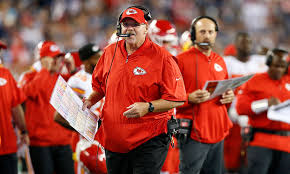 andy reid. andy reid out-coached bill belichick with a college offense