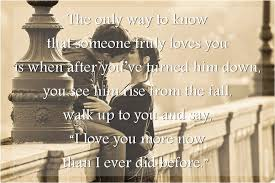 Truly Love Quotes Custom The Only Way To Know That Someone Truly Loves You SILVER QUOTES