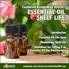 Essential Oil Shelf Life Aromaweb