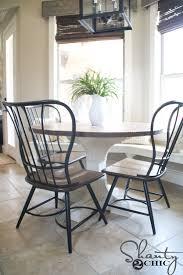 diy round kitchen table