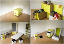 Space Saver Furniture For Bedroom Interior Furniture Space Saving Furniture Ideas White Solid Wood
