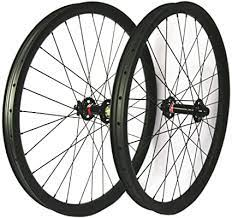 40mm clincher carbon wheel/r36/27 wide. Amazon Com Hulkwheels 29er Fat Tire Bike Wheelset Carbon Clincher Tubeless Ready Rim 40mm Width 32 Holes Thru Axle Front 15 150mm Rear 12 177mm 190mm 197mm Disc Brake Wheels Sports Outdoors