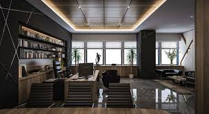 spacious insurance office design. CEO Office Design And Visualization For A Well-known Company In Kuwait City Spacious Insurance N