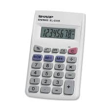 ez office products school supplies order form  8 digit wallet calculator battery included