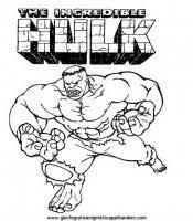 Hulk Disegni Da Colorare Incredibile Hulk Luomo Verde