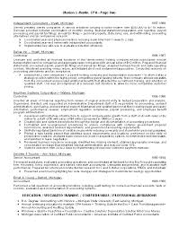 Writing Readable Warranties | Federal Trade Commission Resume ...