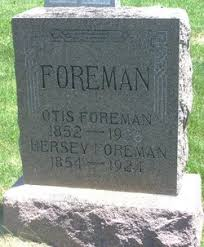 Hersey Barngrover Foreman (1854-1924) - Find A Grave Memorial