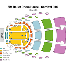 Ziff Ballet Opera House Seating Chart Ziff Ballet Opera House The Arsht Center Miami Tickets