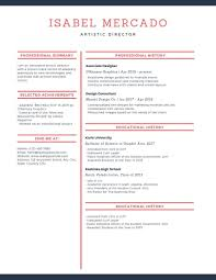 Modern Resume Color Emphasize Career Highlights On Your Resume By Using Color