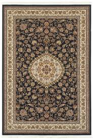 oriental weavers masterpiece 33b black ivory area rug