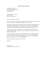 Thank You Letter For Food Donation Food Donation Letter Template Examples Letter Cover Templates
