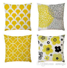 Image Velvet Geometric Pattern Cushion Cover 45x45cm Linen Throw Pillow Case Yellow Decorative Pillows Cover For Sofa Seat Home Decor Outdoor Chair Cushions Clearance Dhgate Geometric Pattern Cushion Cover 45x45cm Linen Throw Pillow Case