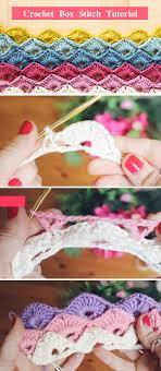 Crochet Box Stitch Pattern Cool Design Inspiration