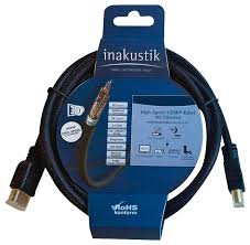 <b>Кабель Inakustik</b> High Speed HDMI (313990015) — купить по ...