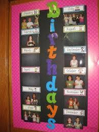 Preschool Classroom Birthday Chart Www Bedowntowndaytona Com