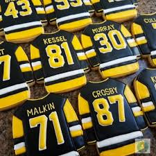 Item code september 15, 2020. Pittsburgh Penguin Jersey Cookies Www Colormecookie Com Icehockey Ice Hockey Table In 2020 Hockey Cakes Hockey Party Pittsburgh Penguins Hockey