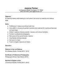 7 beginner makeup artist resume sle resumes sle
