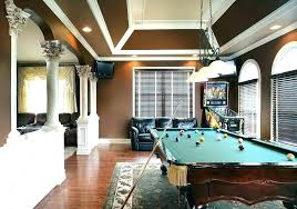 pool table rug rug under pool table size rug under pool table angled ceiling family room