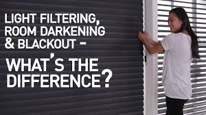 Light Filtering Vs Room Darkening Mini Blinds Light Filtering Vs Room Darkening Vs Blackout Shades Whats The Difference
