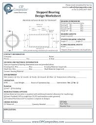 Worksheets Archive - CIP Composites
