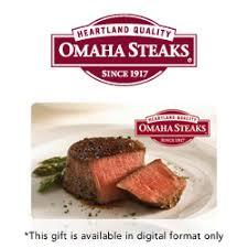 omaha steaks gift cards e