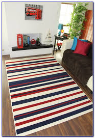 red and white striped rug ikea