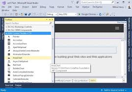 Ajax Line Chart Control In Asp Net Asp Net Ajax Control Toolkit V17 0 0 Visual Studio 2017