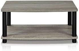 coffee table tv stand modern grey wood