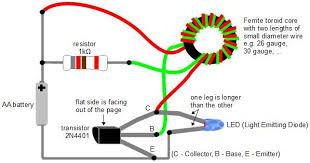 make a joule thief coil out a ferrite toroid steps make a joule thief coil out a ferrite toroid