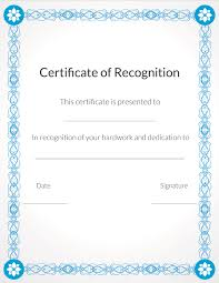 free recognition certificates free printable volunteer recognition and appreciation