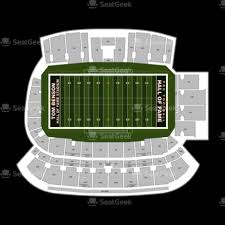 Tom Benson Hall Of Fame Stadium Seating Chart Best Picture