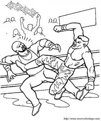 Small Picture WWE Smackdown Free Printable Coloring Sheet Sports Coloring