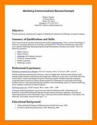 6+ Communication Skills Cv Example | Free Ride Cycles