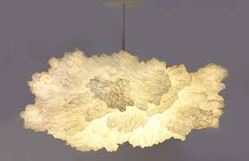 unique chandelier lighting. chandelier unique chandeliers shaped cloud lighting creative in white colored ceiling e