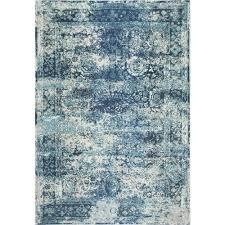 nuloom vintage shuler ocean blue 5 ft x 8 ft area rug