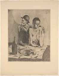 pablo picasso the frugal repast the met the frugal repast pablo picasso spanish malaga 1881 1973 mougins