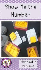 Show A Place Value Chart Place Value Task Cards Number Sense Place Value Place