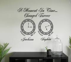 innovation design clock wall art small home remodel ideas a moment in time memory clocks stickers