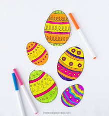 Easter Template Easter Egg Template The Best Ideas For Kids