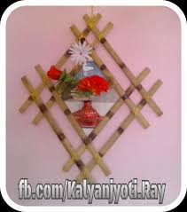 bamboo wall decor ideas craft projects with bamboo sticks
