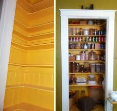 image of narrow pantry cabinet for small spaces