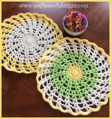 Free Crochet Placemat Patterns Unique Posh Pooch Designs Dog Clothes Round Cotton Placemat Free Crochet