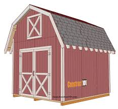 shed plans 10x12 free