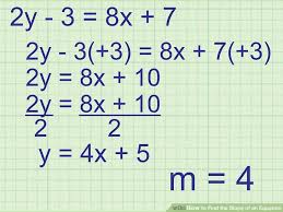 image titled find the slope of an equation step 3