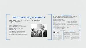Differences Between Mlk And Malcolm X Venn Diagram Martin Luther King Vs Malcolm X By Joshua Crosby On Prezi
