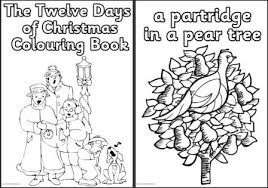 Small Picture 12 Days Of Christmas Coloring Pages GetColoringPagescom