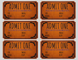 Party Tickets Templates Amazing Of Blank Movie Ticket Template Free Printable Invite Video 17