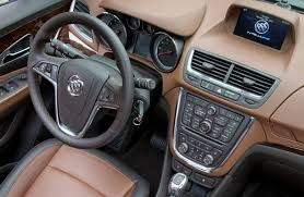 buick encore interior. brown interior 2016 buick encore