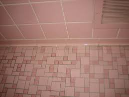 grouting pink bathroom 004